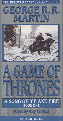 Fantasy Audiobooks - A Game of Thrones by George R.R. Martin